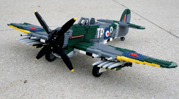 Lego Hawker Typhoon