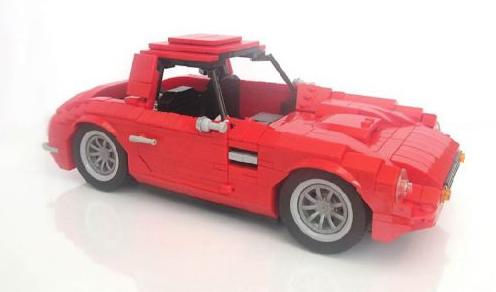 Lego TVR Vixen