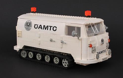 Lego Volkswagen Transporter Snowcat