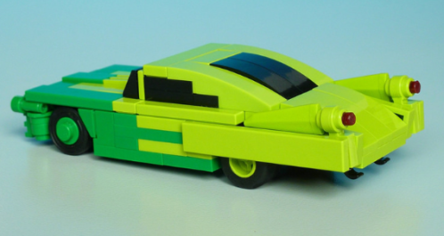 Lego 5-Wide Muscle Car