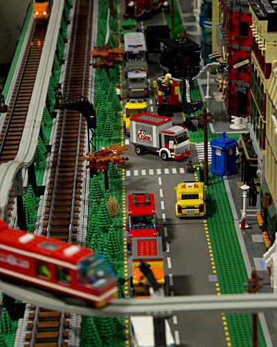 Avenue Full of Vehicles