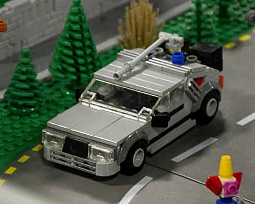 But of course, a DeLorean