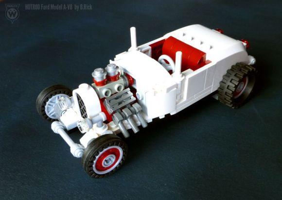 Lego Ford Model A Hot Rod
