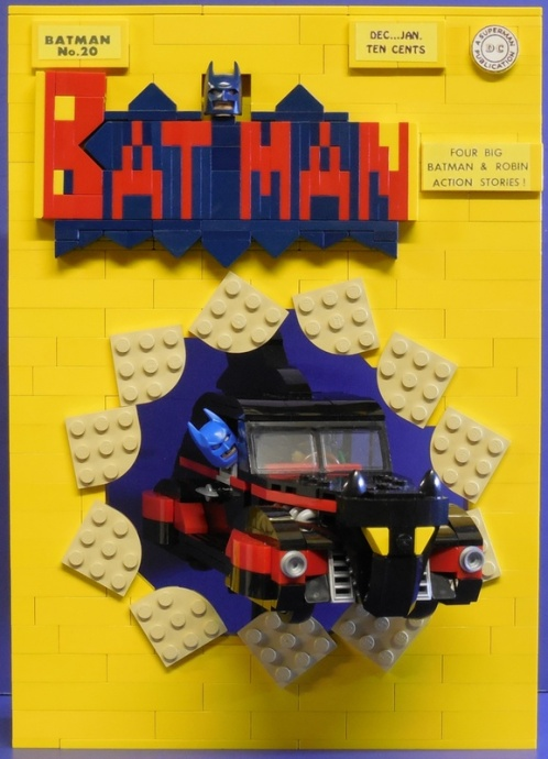 Lego Batman Comic Cover