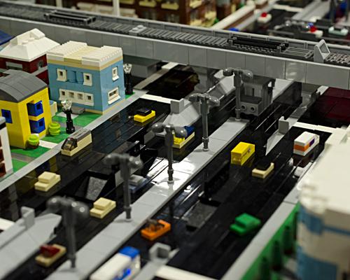 Micro city sunken highway