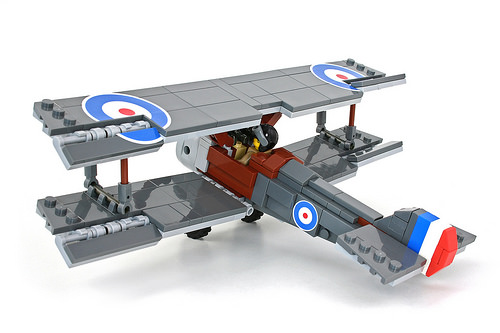 Lego Sopwith Camel Aircraft