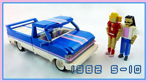Lego 1980s Mini-Truck