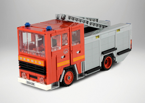 Lego Dennis Fire Engine