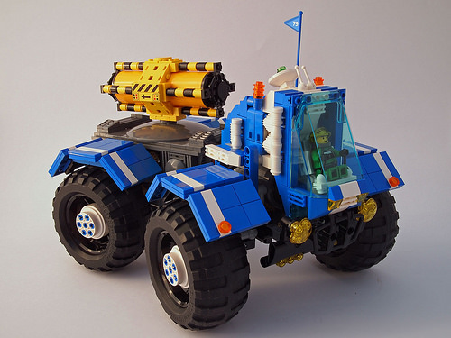 Lego 4x4 Space Transport