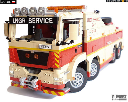 Lego MAN TGS Tow Truck
