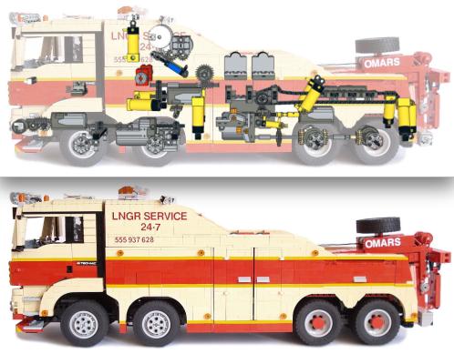 Lego Technic Tow Truck