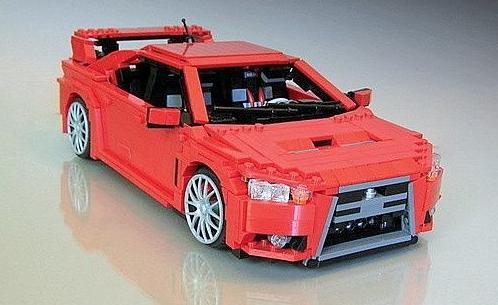 Lego Mitsubishi Evo