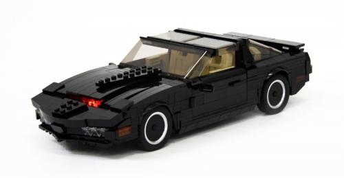lego knight rider kitt the lego car blog. Black Bedroom Furniture Sets. Home Design Ideas