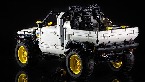 lego technic 4 4 pick up the lego car blog. Black Bedroom Furniture Sets. Home Design Ideas