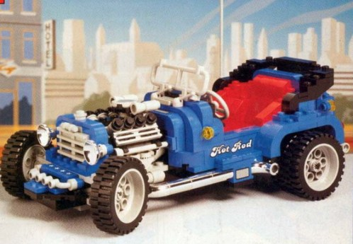 Lego 5541 Blue Fury Hot Rod