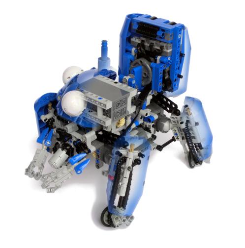 Incredible Lego Technic See-Thru