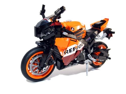 Lego Repsol Motorcycle