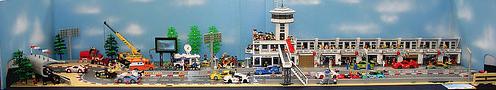 Lego Le Mans Scene