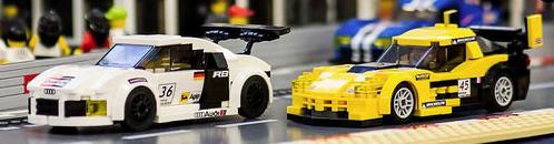 Lego Le Mans Corvette Audi R8