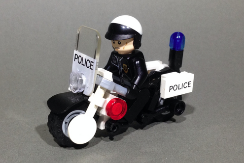 Lego Police Motorcycle