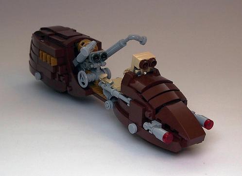 Lego Victorian Henderson Motorcycle