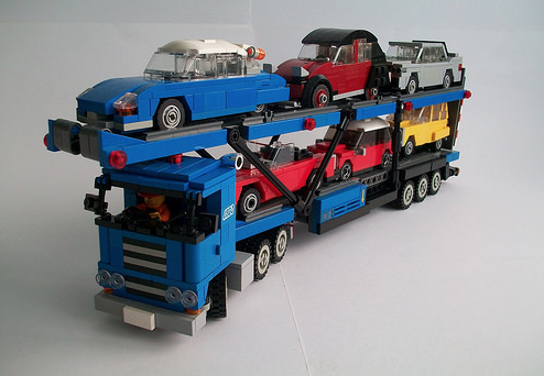 Lego Car Transporter