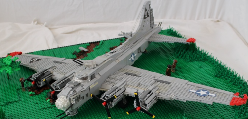 Lego B-17 Flying Fortress