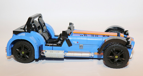 Lego Model Team Caterham 7