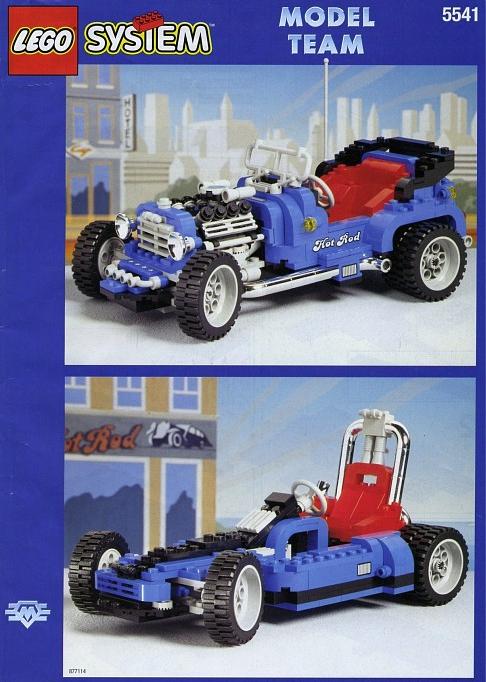Lego Model Team 5541 Review