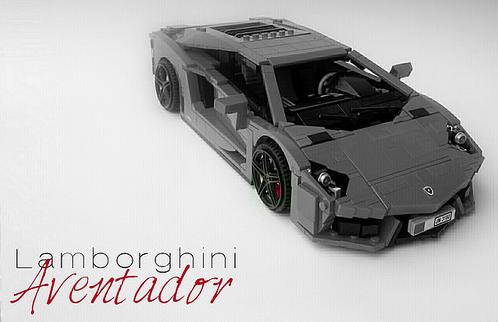 Lego Lamborghini Aventador Firas Abu Jaber
