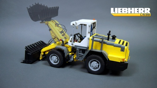 Lego Liebherr Loader Sariel RC