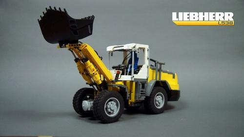 Lego Technic Liebherr Loader