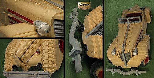 Lego Auburn Boattail