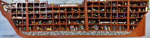 Lego Ship Inside