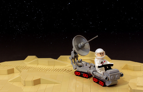 Lego Lone Spaceman