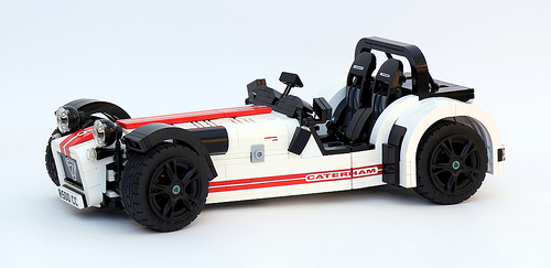 lego caterham 7 r500 the lego car blog. Black Bedroom Furniture Sets. Home Design Ideas