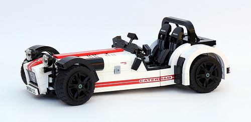 Lego Caterham 7 R500