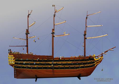 Lego Pirate Ship Brickmans Bounty