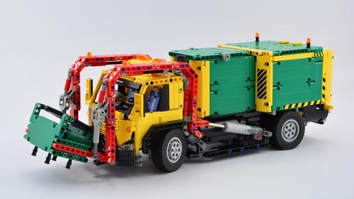 Lego Refuse Truck