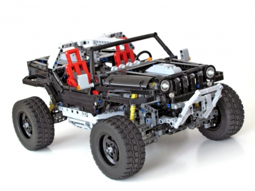 Lego Technic Jeep Hurricane