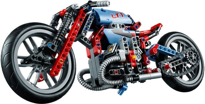lego 8070 motorized instructions
