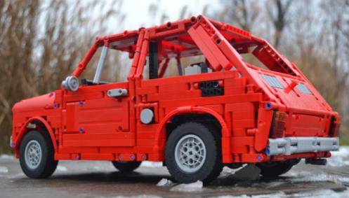Lego Fiat 126