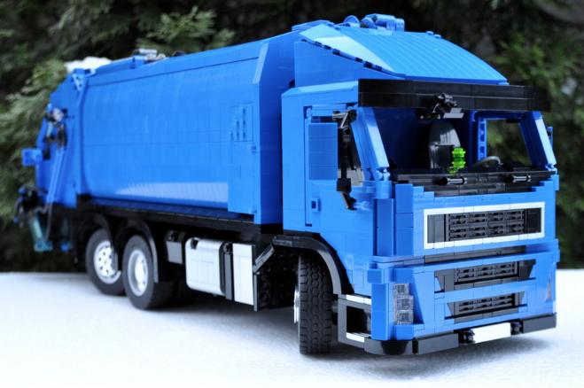Lego Bin Lorry | THE LEGO CAR BLOG