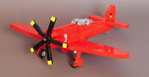 Lego German Tug Aircraft