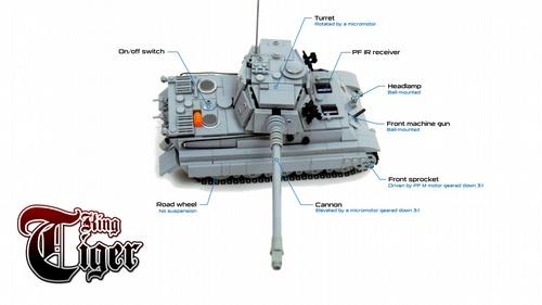 Lego Technic Tiger Tank