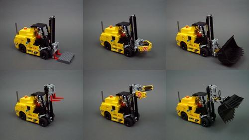 Lego Technic Sariel Forklift SBrick