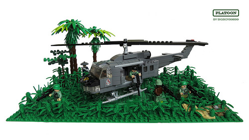 Lego Huey Helicopter