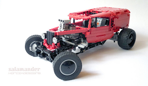 Lego Hot Rod Van