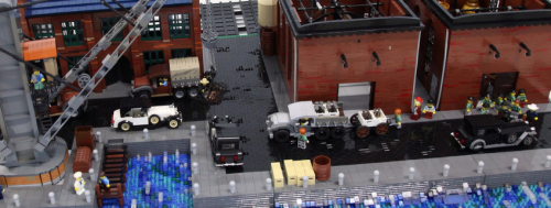 Lego Vintage Scene