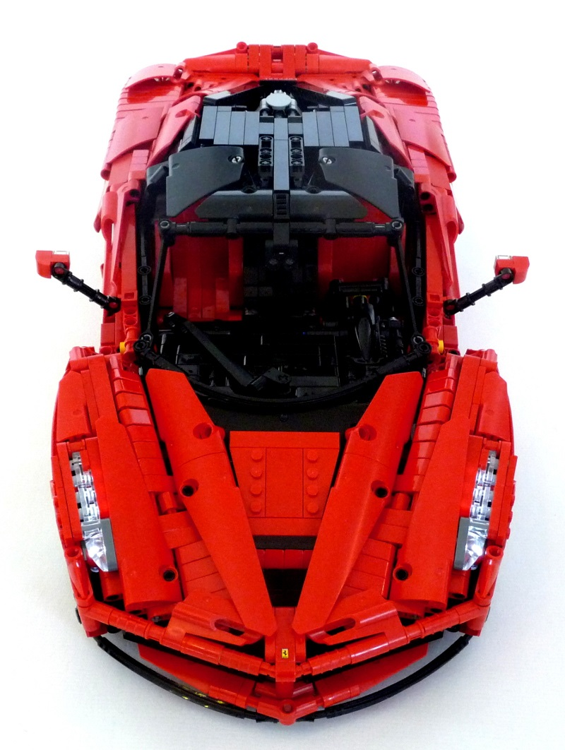 lego technic ferrari laferrari the lego car blog. Black Bedroom Furniture Sets. Home Design Ideas